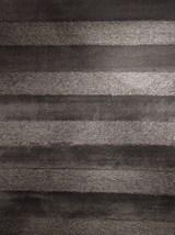 93X126 Rug-Charcoal Stripe Shag - Signature