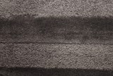 93X126 Rug-Charcoal Stripe Shag - Default