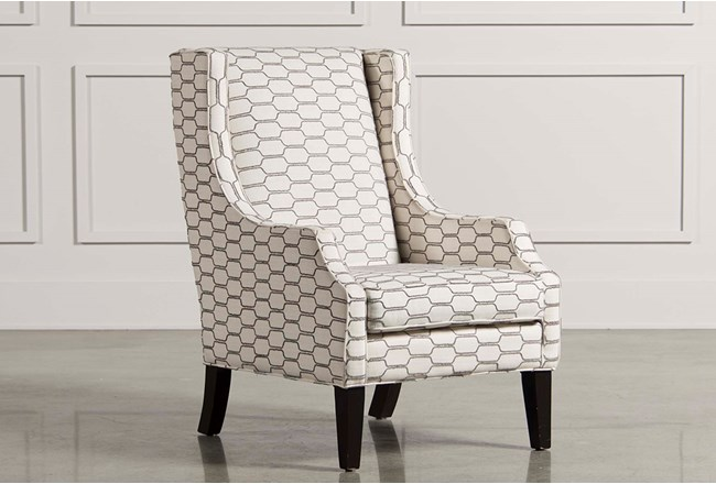 Lewis Zinc Wing Chair - 360