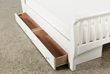 Bayfront Full Sleigh Bed With Single 2-Drawer Storage Unit - Top