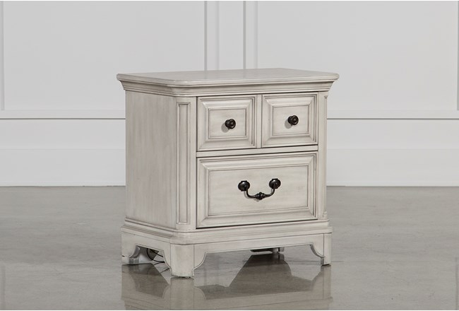 Kincaid 2-Drawer Nightstand - 360