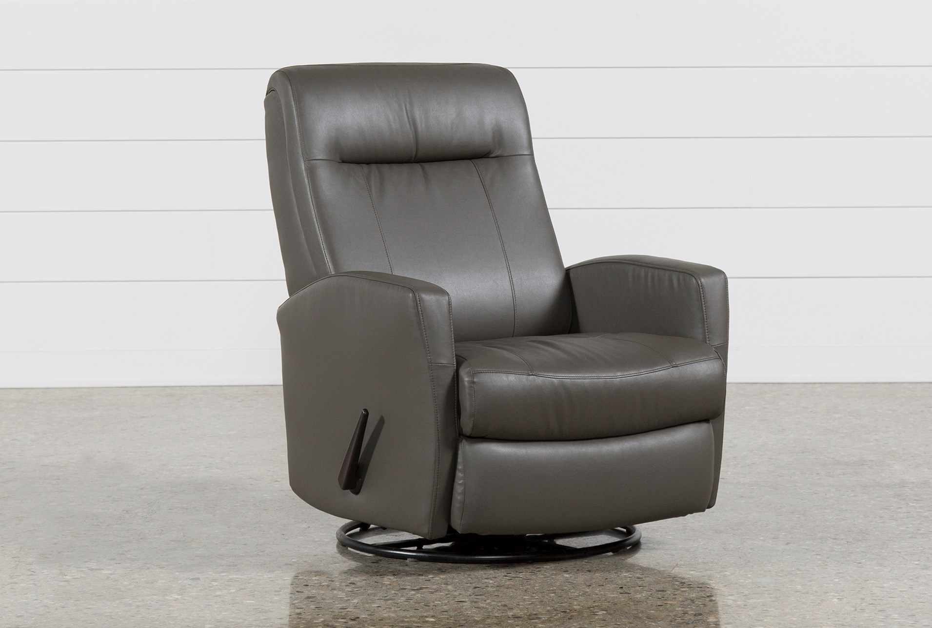 Dale Ii Swivel Glider Recliner Living Spaces