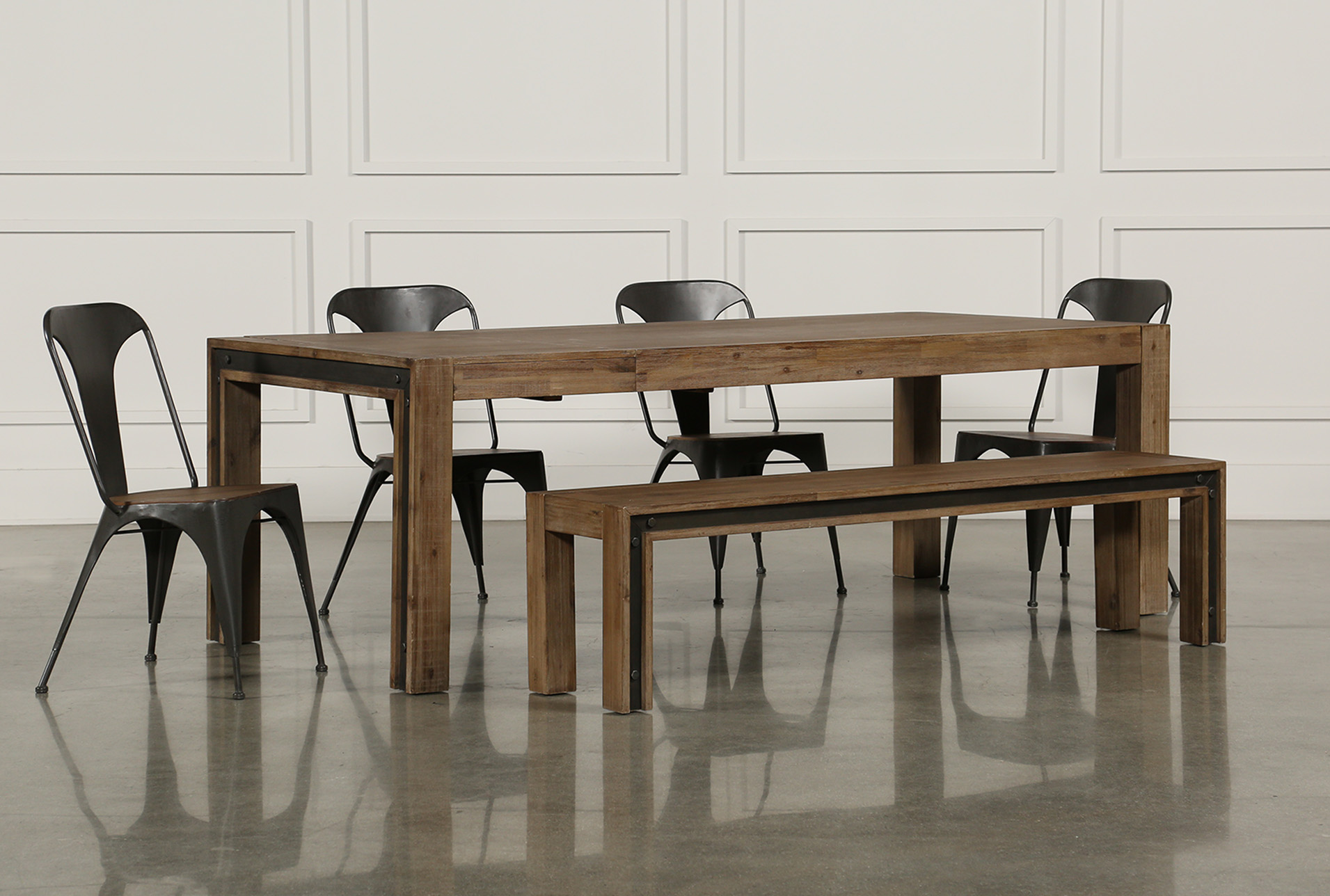 Added To Cart. Amos 6 Piece Extension Dining Set ...
