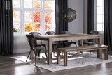 Amos 6 Piece Extension Dining Set - Room