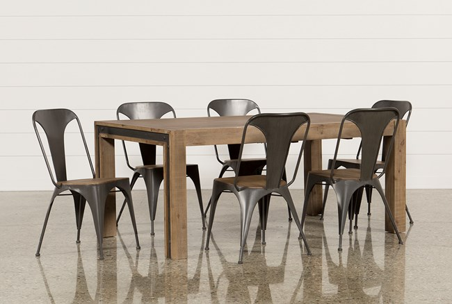 Amos 7 Piece Extension Dining Set - 360