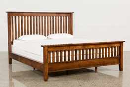 Lloyd California King Panel Bed