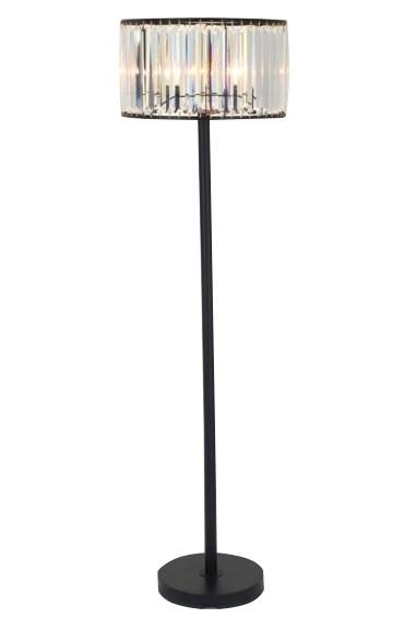 Floor Lamp-Wells Crystal
