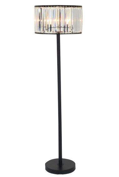 Floor Lamp-Wells Crystal