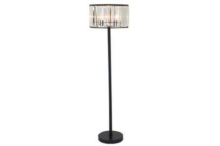 Floor Lamp-Wells Crystal - Main