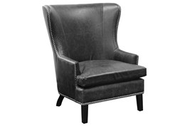 Emerson Black Club Chair