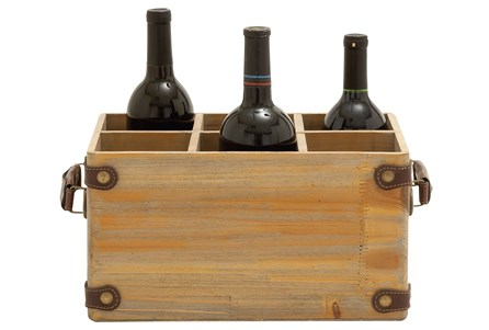 Wooden Wine Caddy