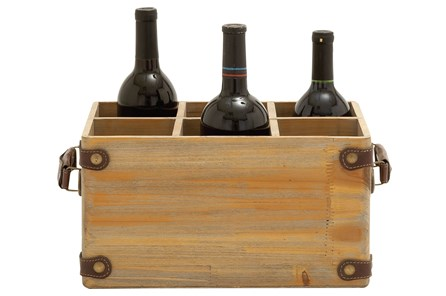 Wooden Wine Caddy - Main