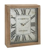 18 Inch Wooden Wall Clock - Signature