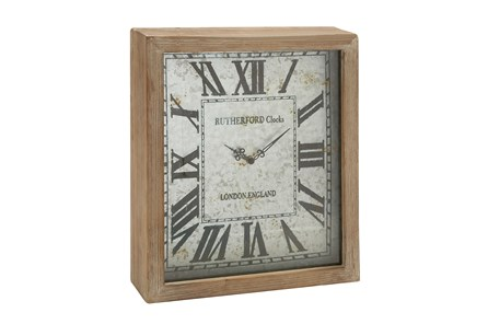 18 Inch Wooden Wall Clock - Main