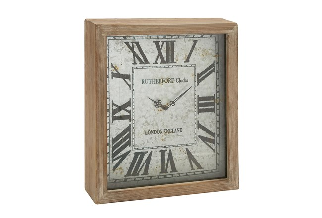 18 Inch Wooden Wall Clock - 360
