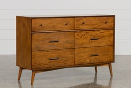 Alton Cherry 6 Drawer Dresser