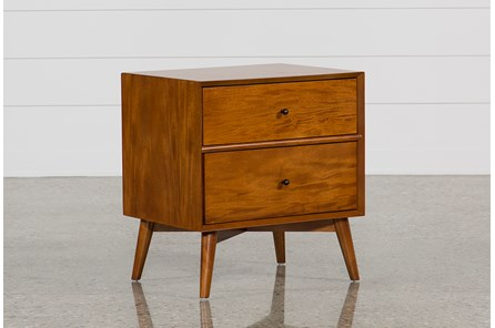 Alton Cherry Nightstand - Main