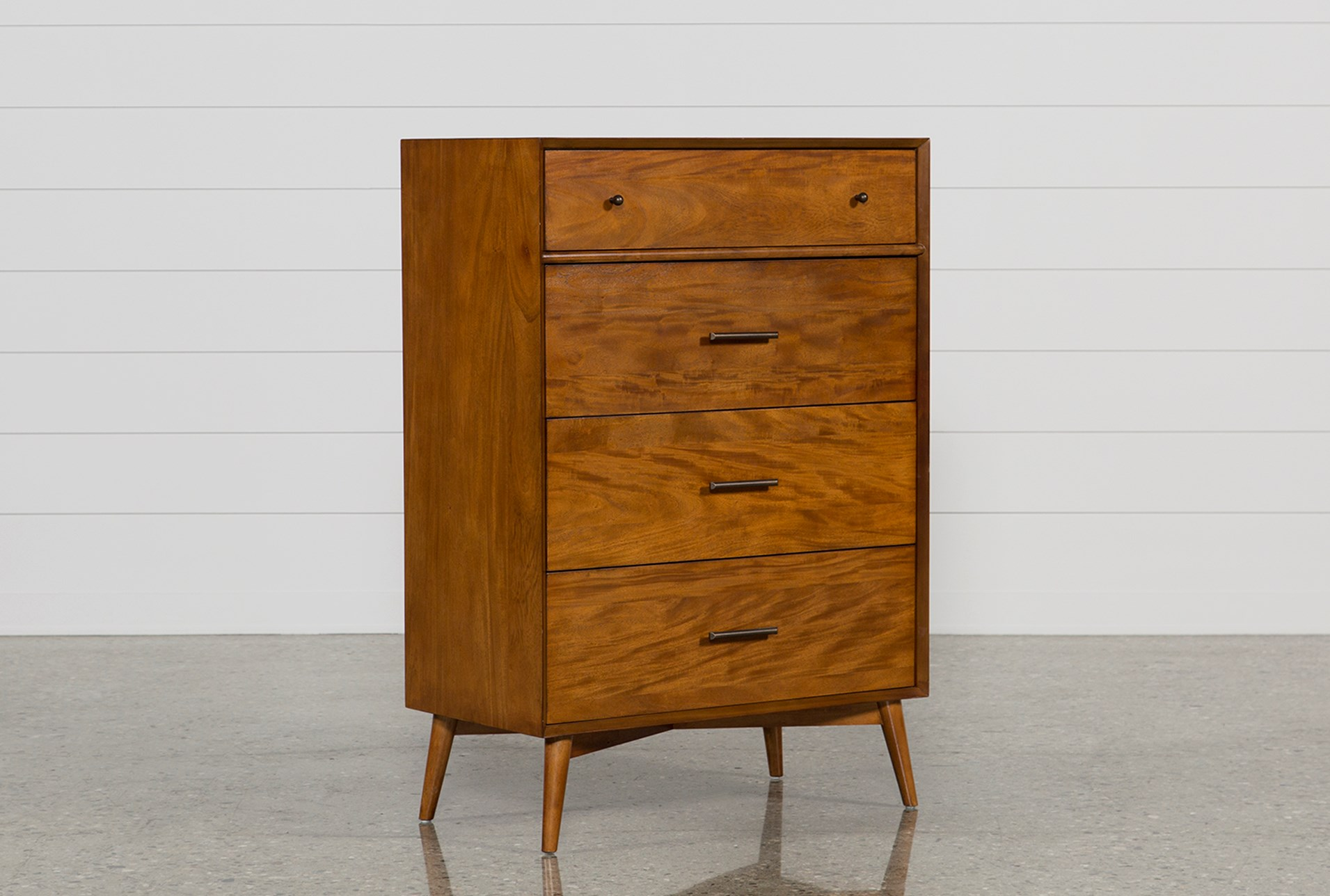Alton Cherry Chest Of Drawers Living Spaces