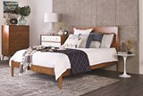 Alton Cherry California King Platform Bed - Room