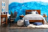 Alton Cherry Full Platform Bed - Room