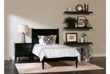 Alton Black Nightstand - Room