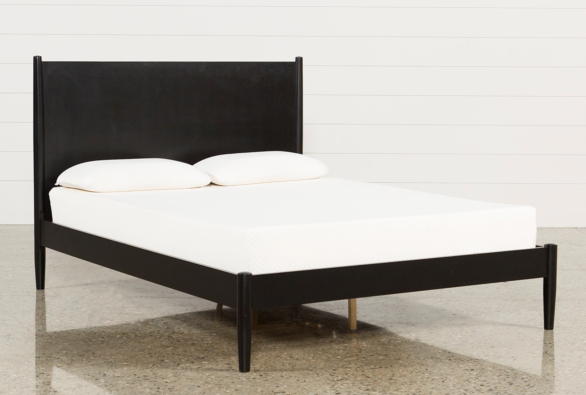 Alton black california king platform bed qty 1 has been successfully added to your cart
