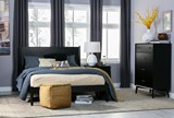 Alton Black Full Platform Bed - Room