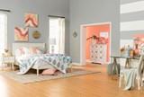 Alton White Full Platform Bed - Room