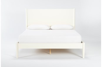 Alton Ecru Full Platform Bed