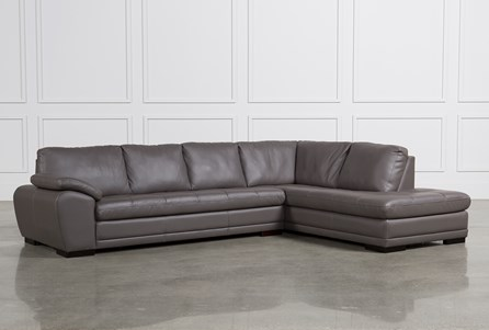 Vaughn Granite 2 Piece Sectional W/Raf Chaise