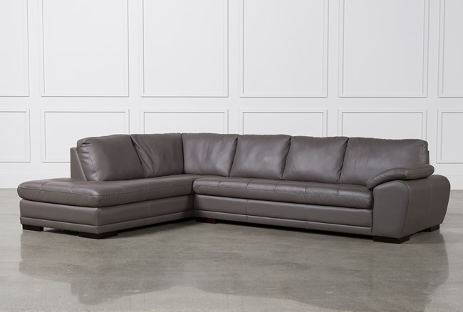 Vaughn Granite 2 Piece Sectional W/Laf Chaise - 360