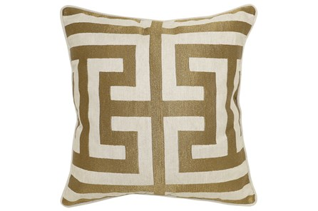 Accent Pillow-Estate Bronze 22X22 - Main