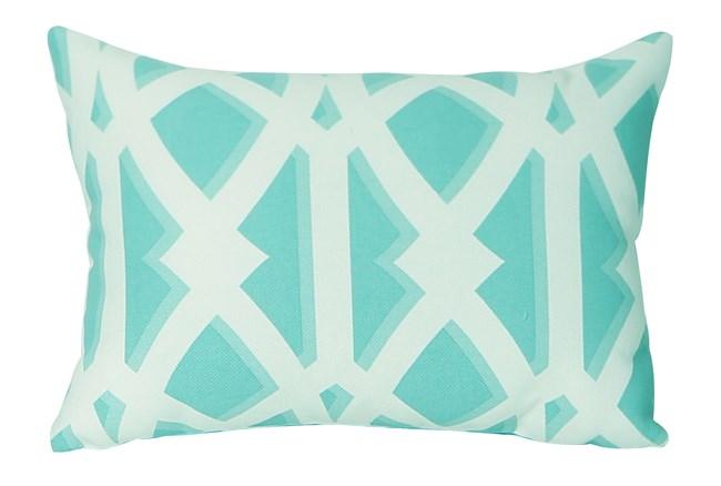 Outdoor Accent Pillow-Antiquity Seaglass 14X20 - 360