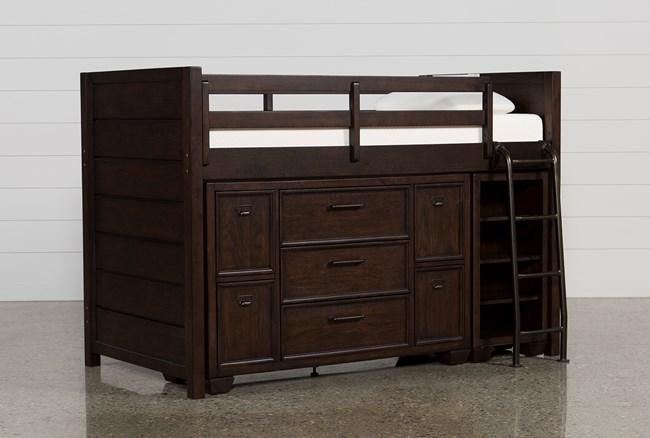 Elliot Twin Junior Storage Loft Bed - 360