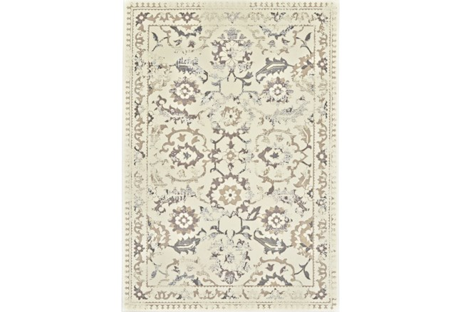 60X96 Rug-Gretta Faded Traditional - 360