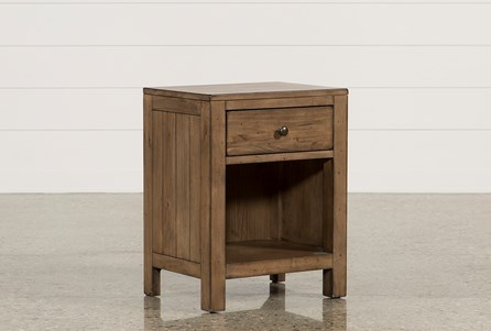 Brooke 1-Drawer Nightstand
