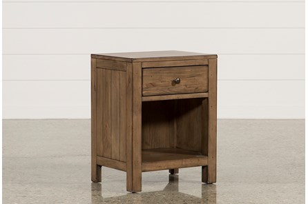 Brooke 1-Drawer Nightstand - Main