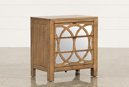 Brooke Mirrored Nightstand