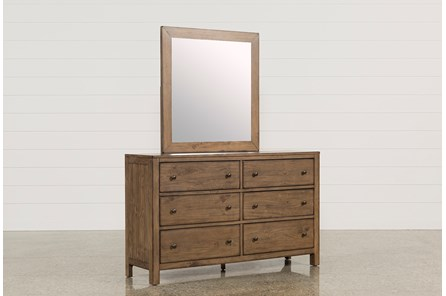 Brooke queen storage bed living spaces for Brooke mirror