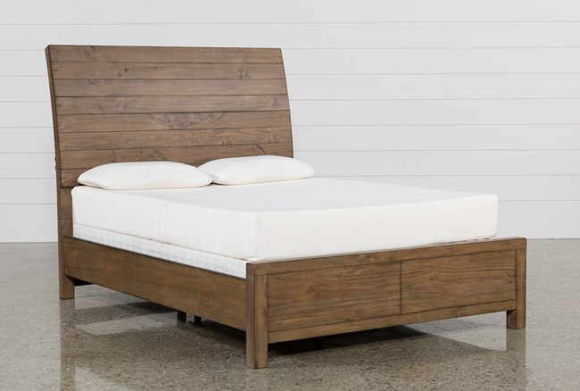Brooke California King Sleigh Bed - 360
