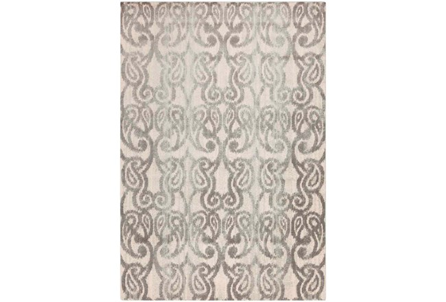 91X127 Rug-Ketton Grey Paisley - 360