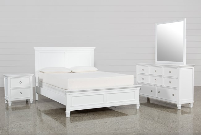 Albany Queen 4 Piece Bedroom Set - 360