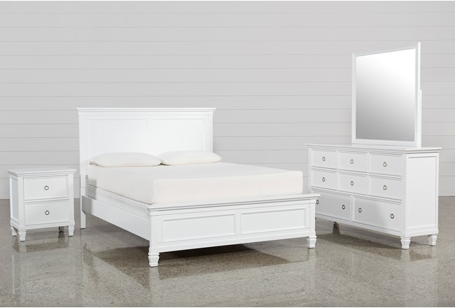 Albany Queen 4 Piece Bedroom Set | Living Spaces