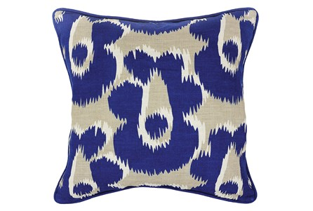 Accent Pillow-Freya Dark Blue 18X18