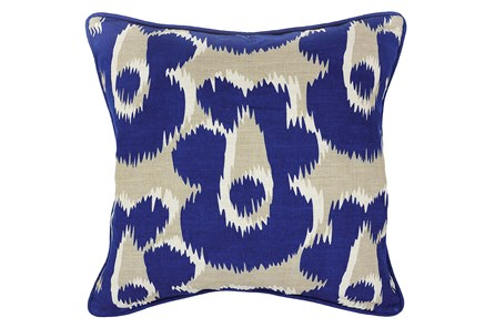 Accent Pillow-Freya Dark Blue 18X18 - Main