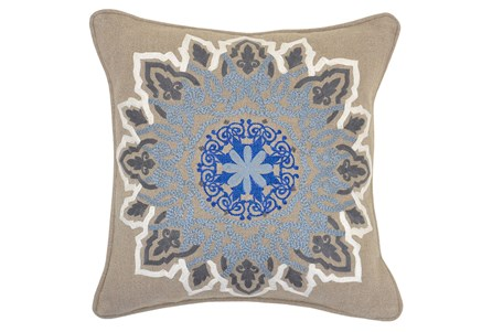 Accent Pillow-Freya Medallion 18X18