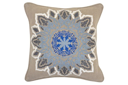 Accent Pillow-Freya Medallion 18X18 - Main