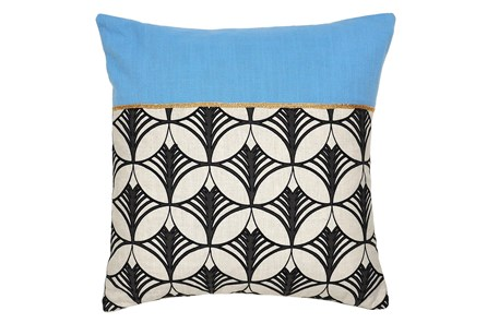 Accent Pillow-Tallulah Blue 18X18 - Main