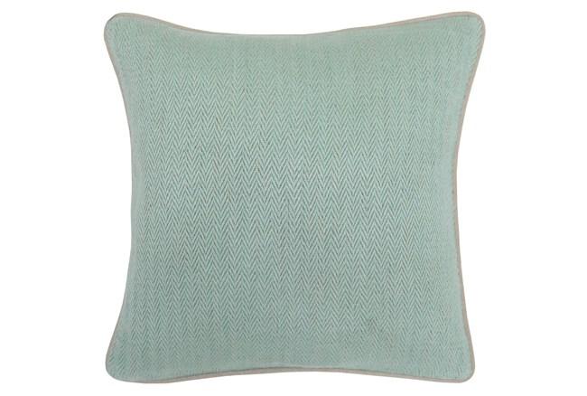 Accent Pillow-Jude Herringbone Mint 18X18 - 360