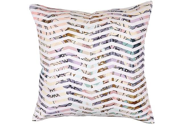 Accent Pillow-Jude Floral Chevron 22X22 - 360